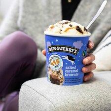 image 3 of Ben & Jerry's Salted Caramel Brownie Ice Cream Moophoria 465Ml