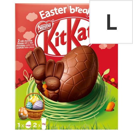 Kit Kat Bunny Milk Chocolate Large Egg 238G