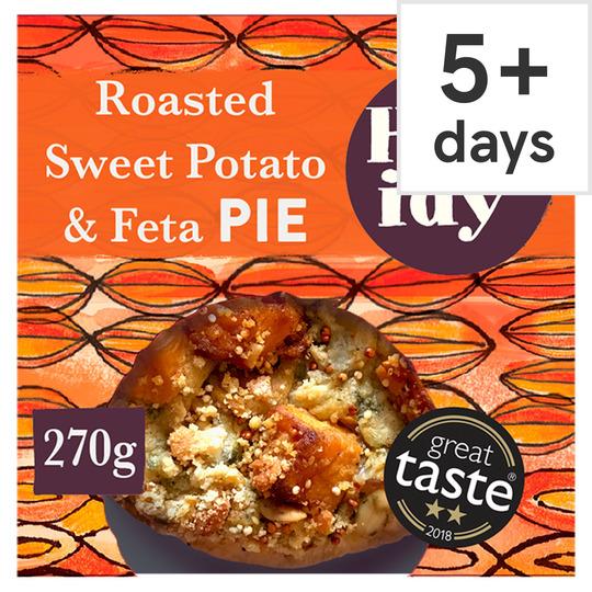 Higgidy Roasted Sweet Potato & Feta Pie 270G