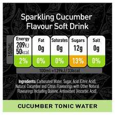 image 2 of Schweppes 1783 Cucumber Tonic Water 6X150ml