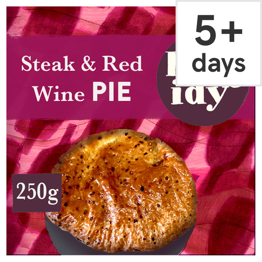 Higgidy Steak & Red Wine Pie 250G - Tesco Groceries
