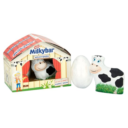 image 1 of Milkybar Barn Easter Egg Gift Set