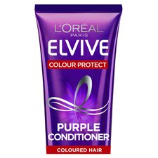 image 1 of L'oreal Elvive Colour Protect Purple Conditioner 150Ml