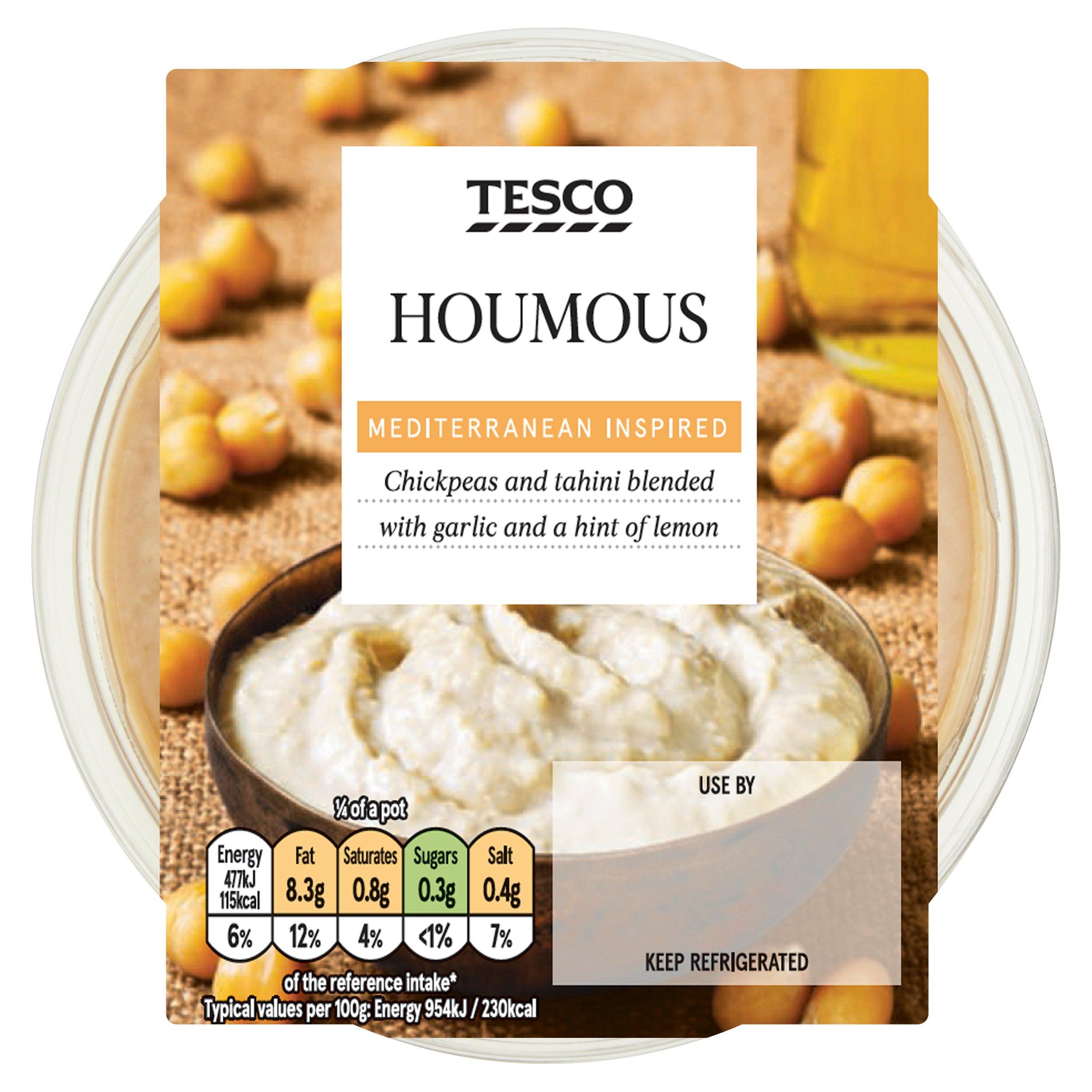 TESCO > Fresh Food > Tesco Houmous 200G