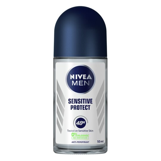 Nivea Men Sensitive Protect Antiperspirant Deodorant Roll On 50Ml