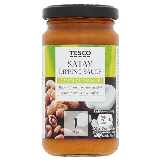 Tesco Satay Dipping Sauce 180g Tesco Groceries