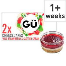 image 1 of Gu Strawberry & Clotted Cream Cheesecake 2X87g