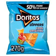 image 1 of Doritos Dippers Cool Original Tortilla Chips 270G