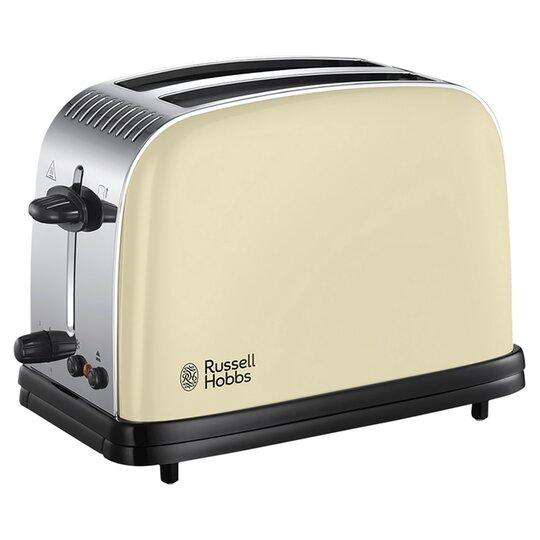 Russell Hobbs Colours 2 Slice Toaster Cream