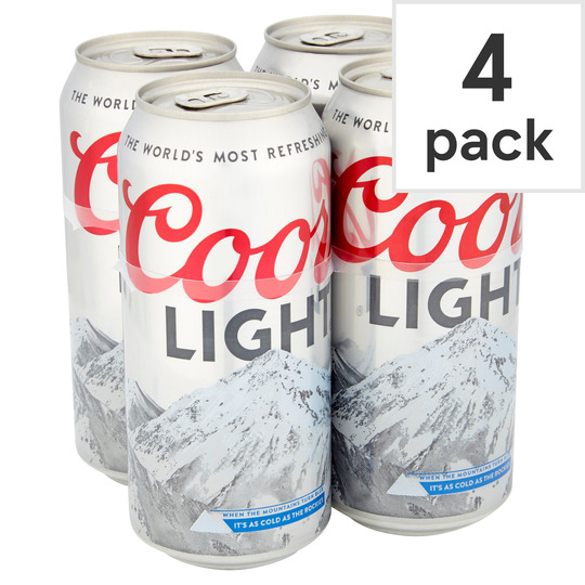 image 1 of Coors Light 4X440ml