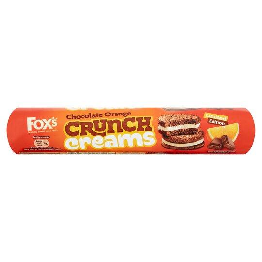 image 1 of Fox's Chocolate Orange Crunch Creams 230G