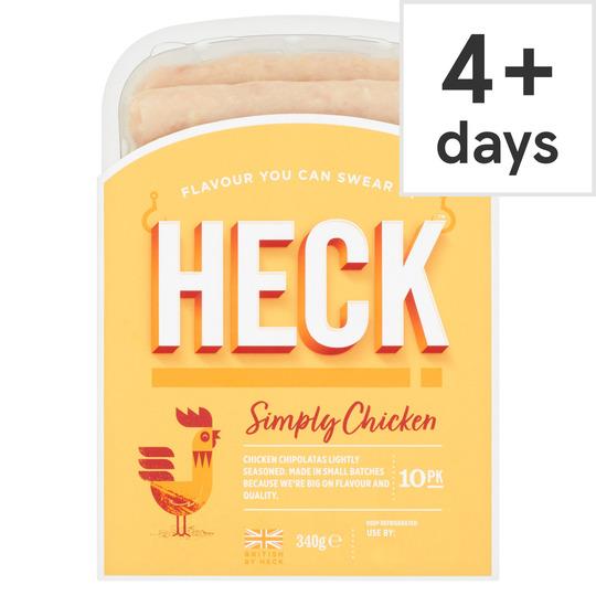 Heck Simply Chicken Chipolatas 340G