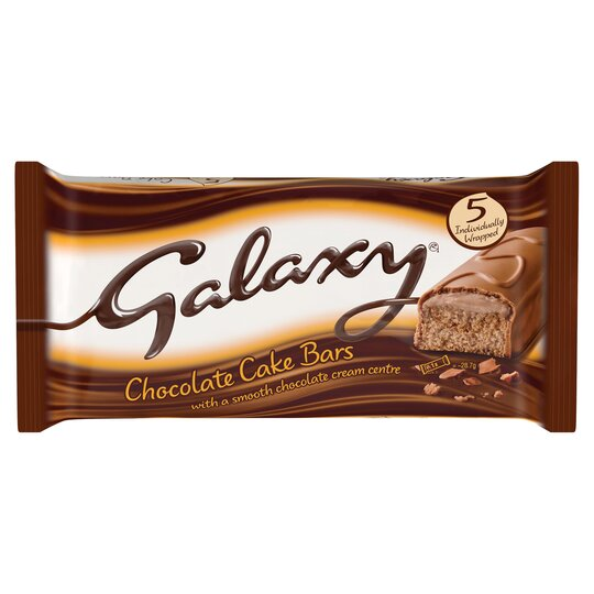 Galaxy Cake Bars 5 Pack
