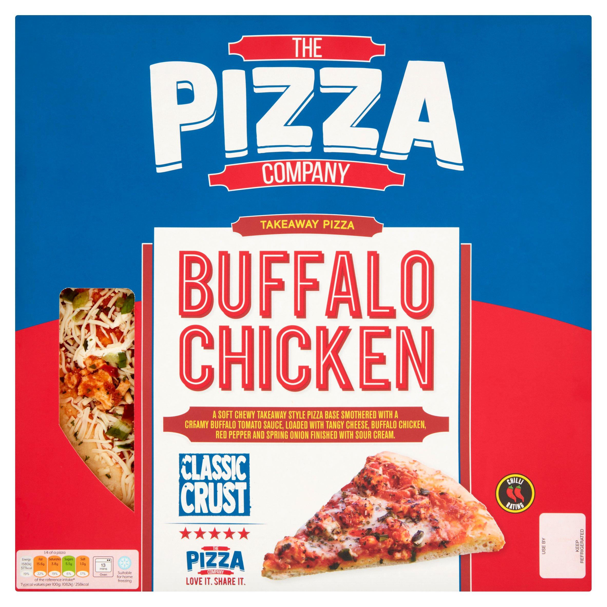 The Pizza Co. Classic Crust Buffalo Chicken 588G