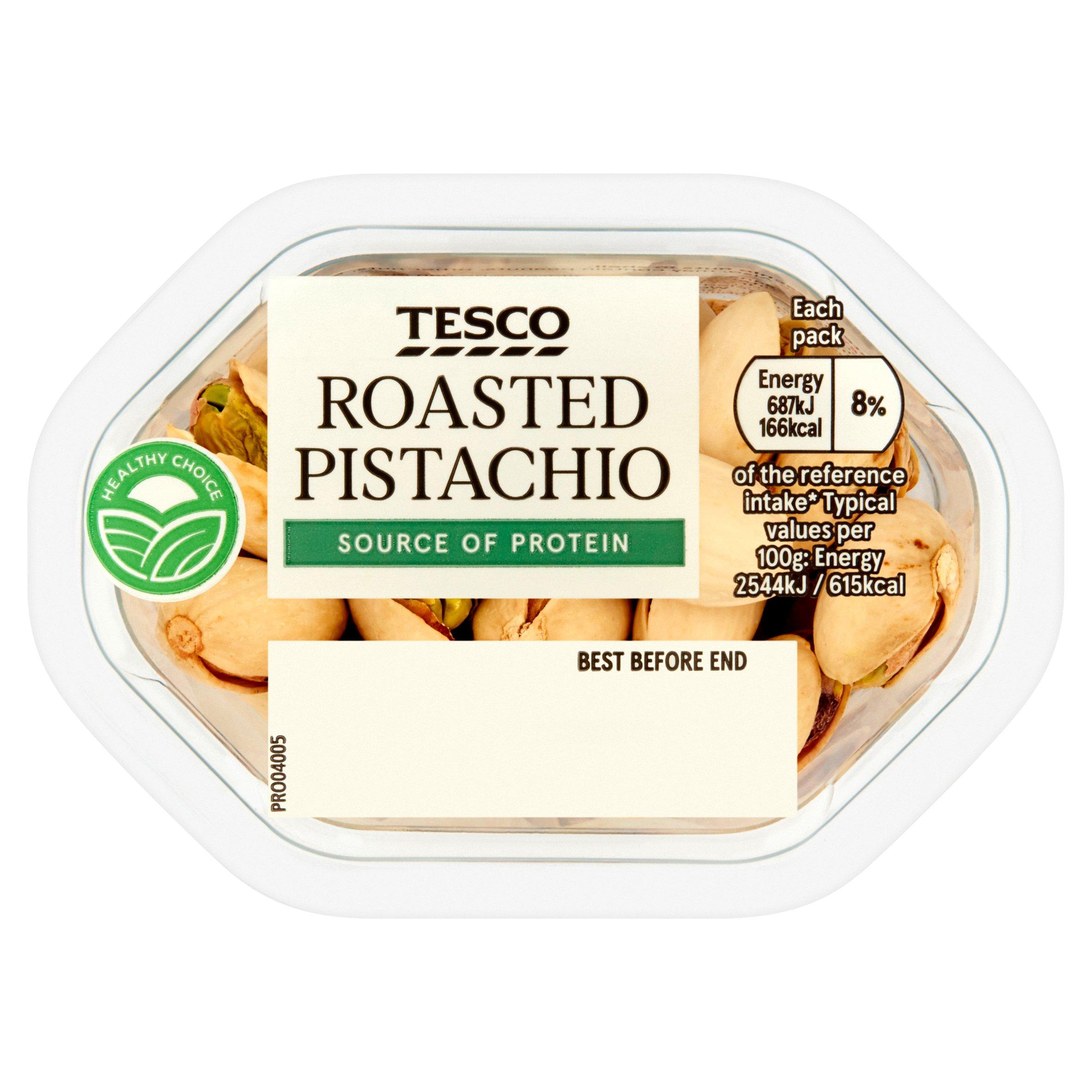 Tesco Snacking Pistachio 50G