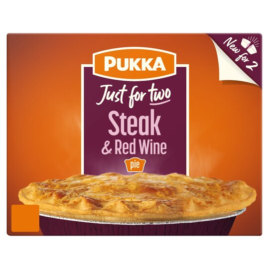 Pukka Just For Two Steak & Red Wine Pie - Tesco Groceries