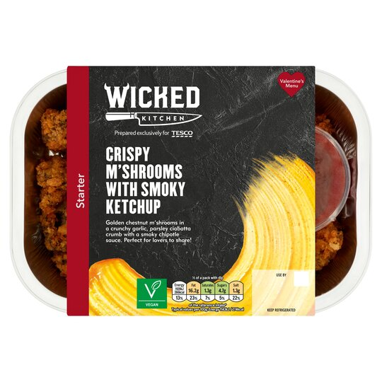 Wicked Kitchen Crispy M'shrooms Smoky Ketchup 210G