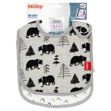 image 2 of Nuby Muslin Bibs Twinpack