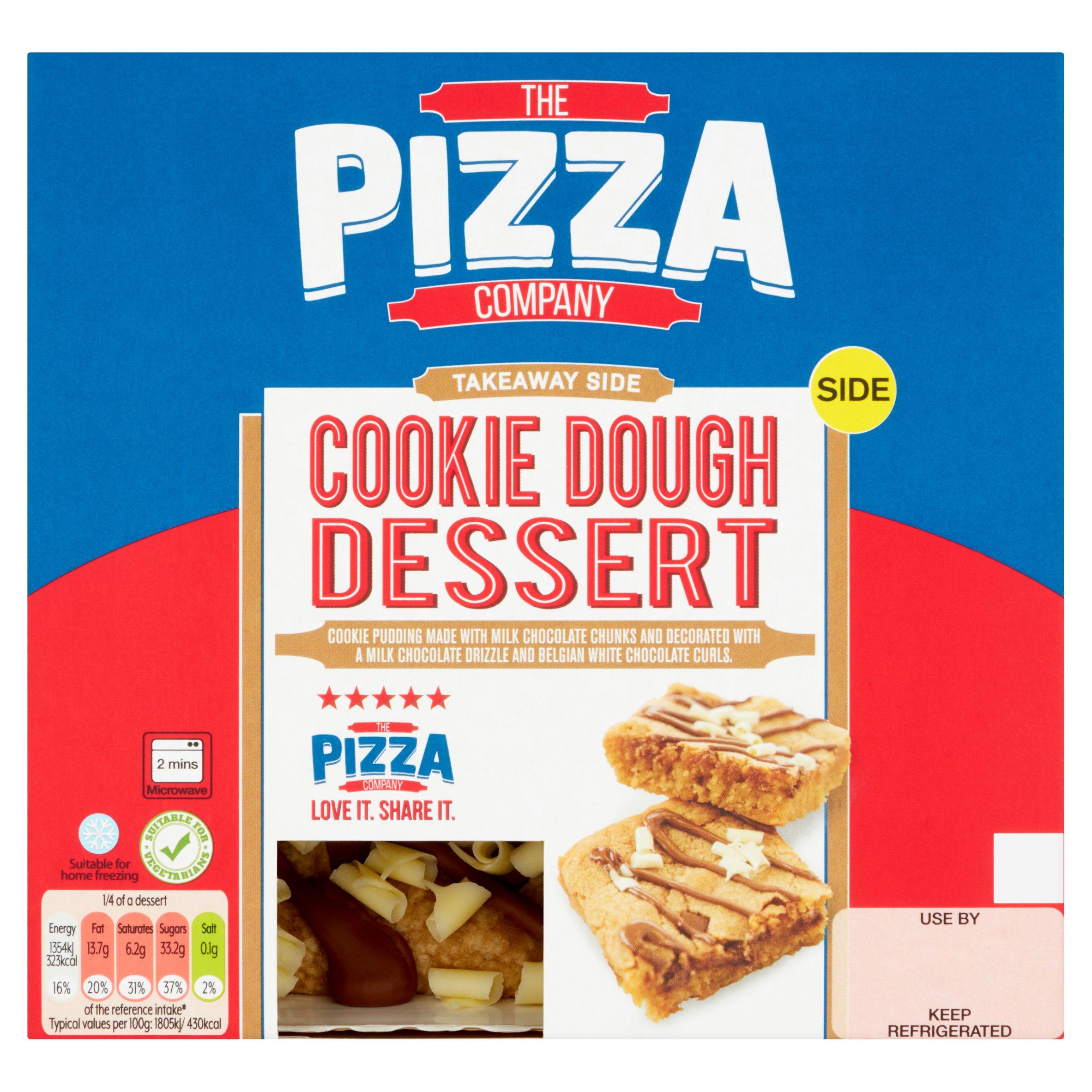 The Pizza Company Cookie Dough Dessert 300G