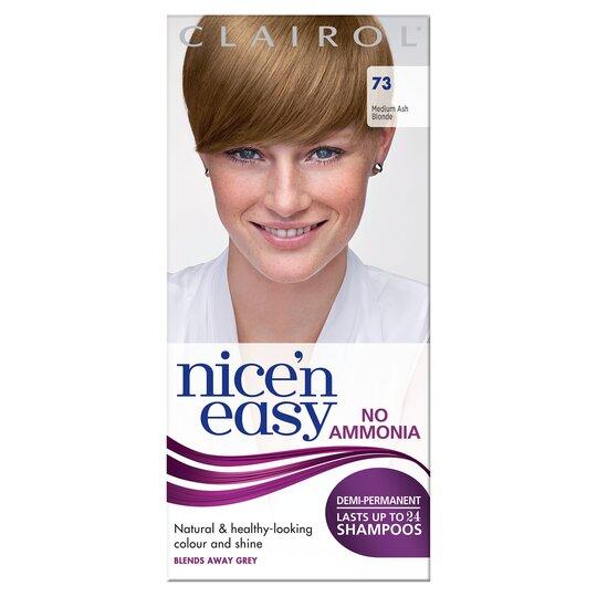Nice'n Easy No Ammonia Ash Blonde 73 Hair Dye