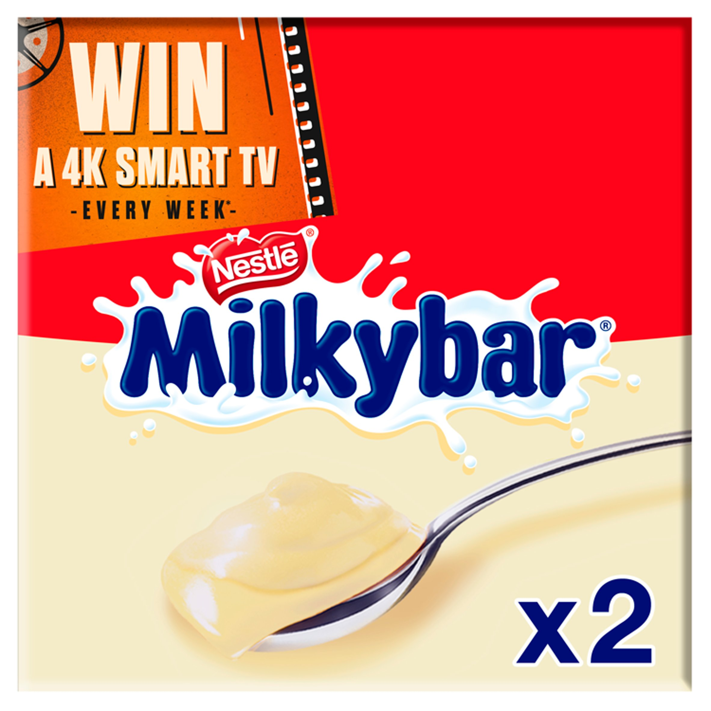 Nestle Milkybar Dessert 2X70g