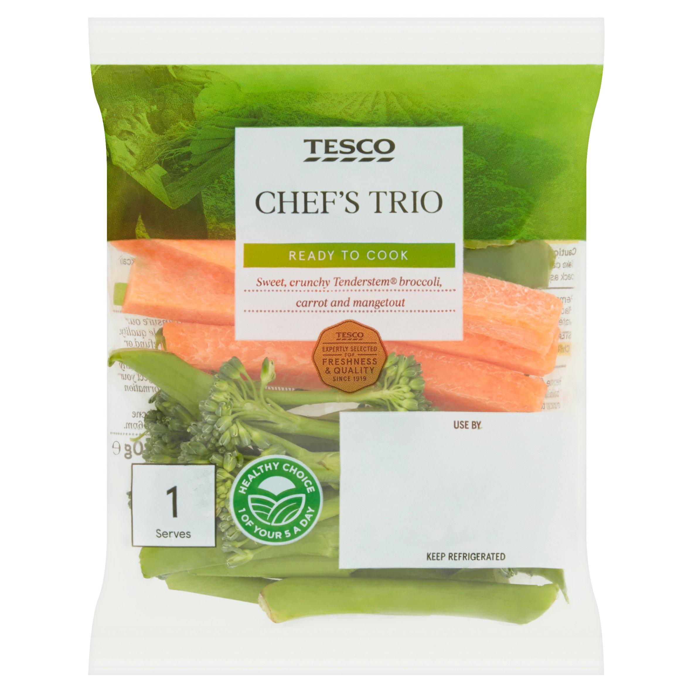 Tesco Chefs Trio 80G