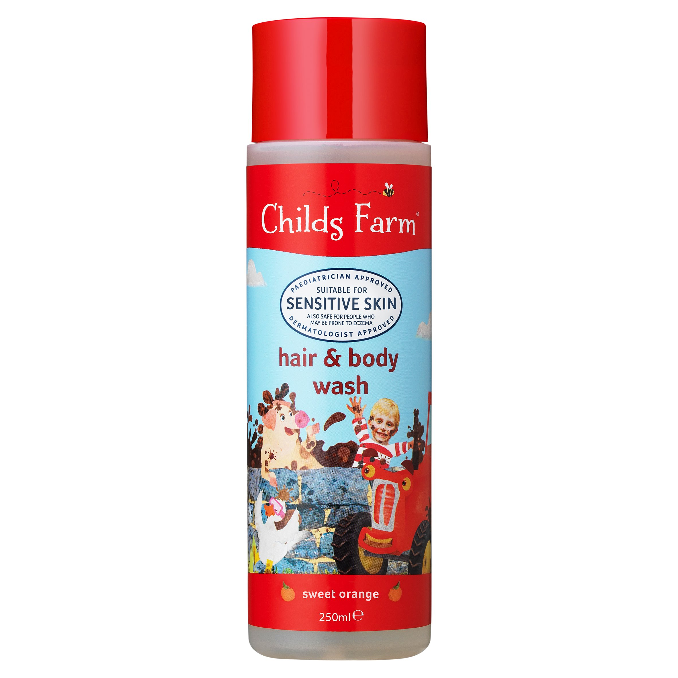 Childs Farm Orange Hair And Body Wash 250Ml