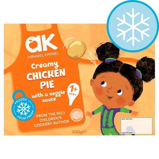 Annabel Karmel Creamy Chicken Pie Wit Veggie Sauce 200G