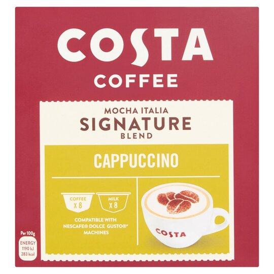 Costa Coffee Mocha Italia Dolce Gusto Cappuccino 1464