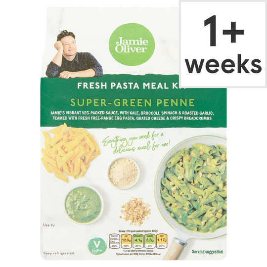 Jamie Oliver Super Green Penne Pasta Meal Kit 300G