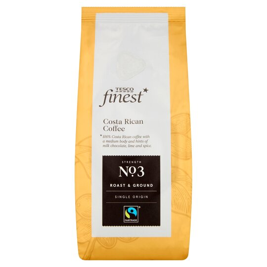 Tesco Finest Costa Rican Fair Trade Coffee 227g