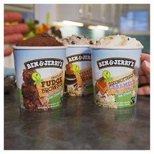 image 4 of Ben & Jerry's Non Dairy Coconut & Caramel Ice Cream 465Ml
