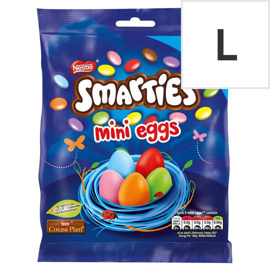 Smarties Milk Chocolate Mini Eggs Giant Bag 270G