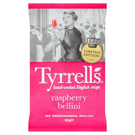 Tyrrells Raspberry Bellini 150g