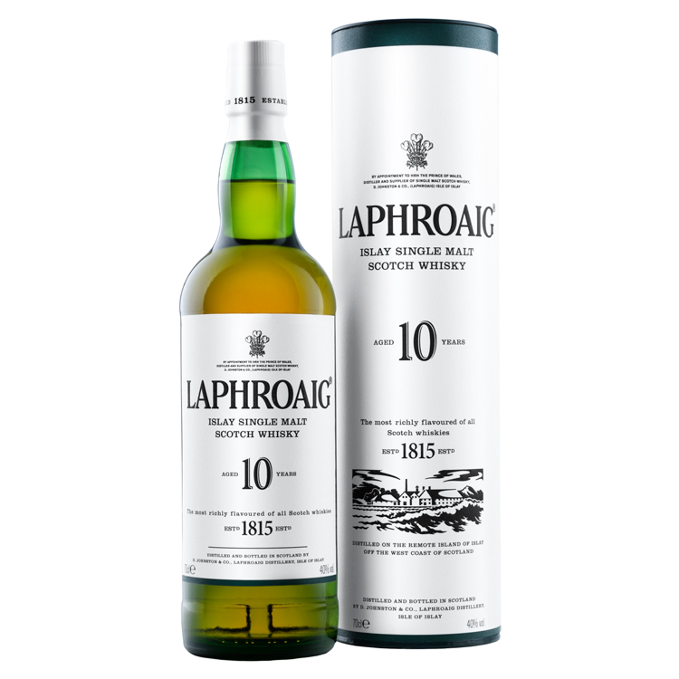 Laphroaig Single Malt Whisky 10Yr 70Cl - Smoky