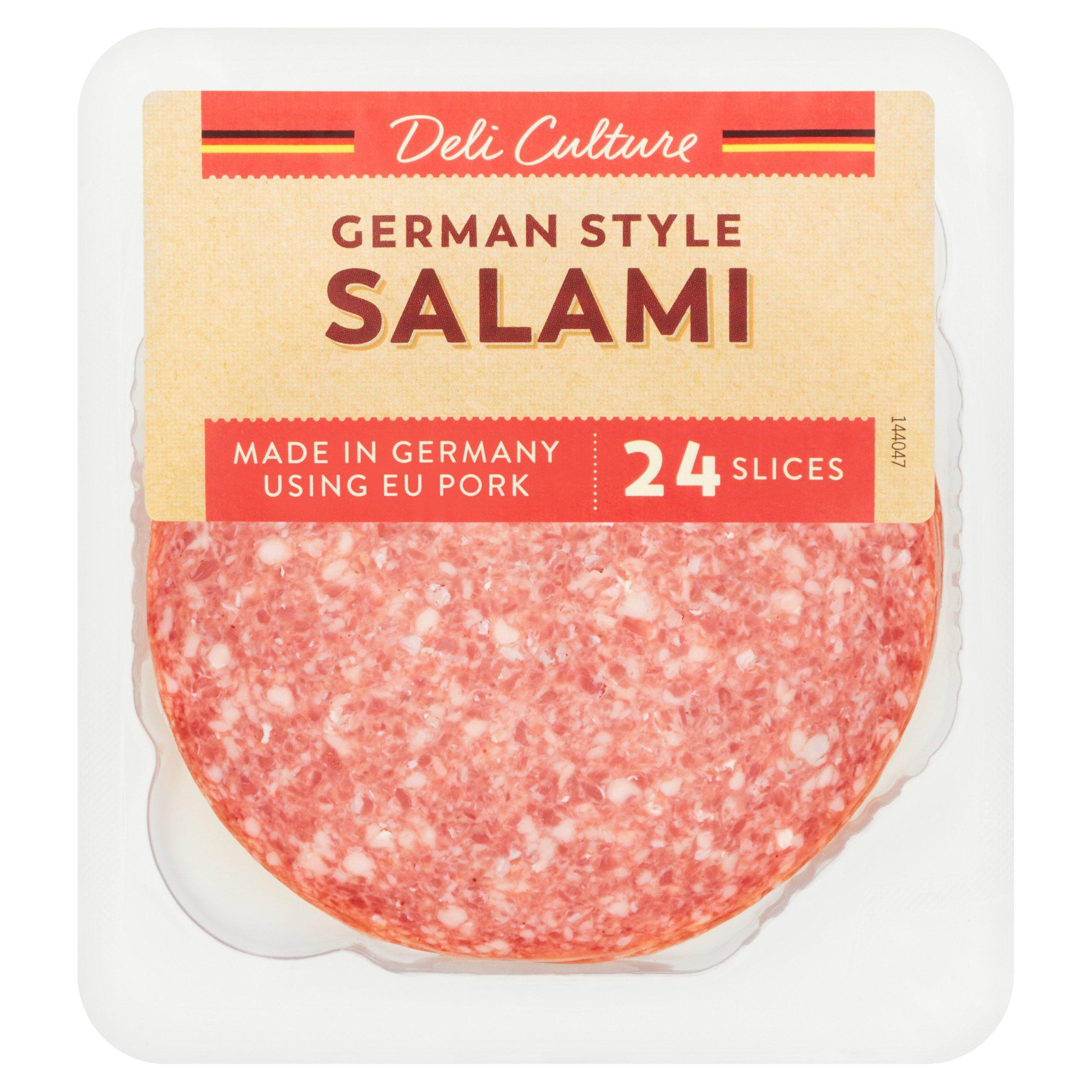 Deli Culture German Salami 24 Slices 250G
