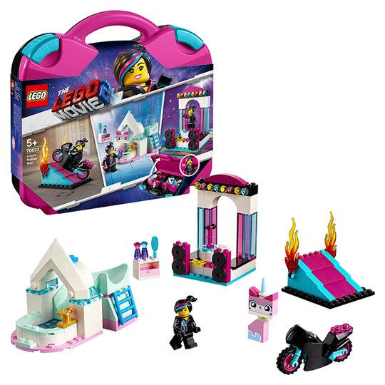 Lego Lucy S Builder Box The Lego Movie 2 Building Set Tesco Groceries
