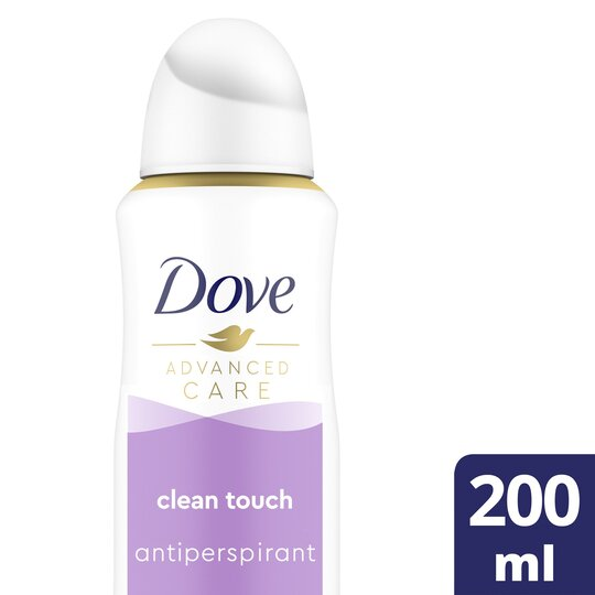 image 1 of Dove Advance Clean Touch Antiperspirant Deodorant 200Ml
