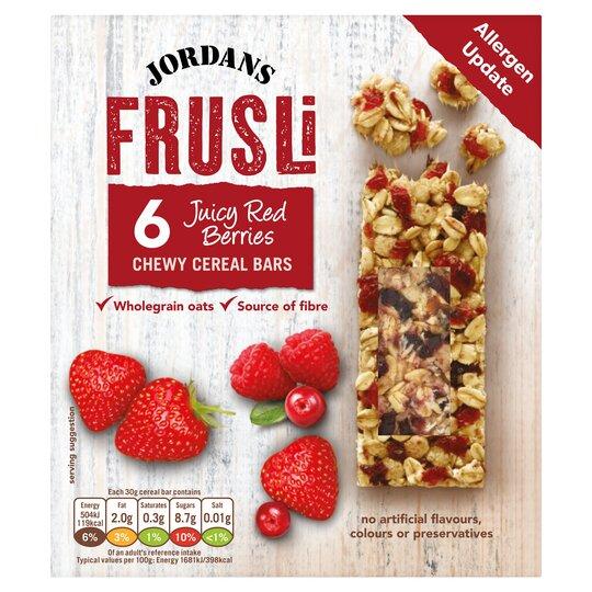 Jordans Frusli Wild Berry 6X30g