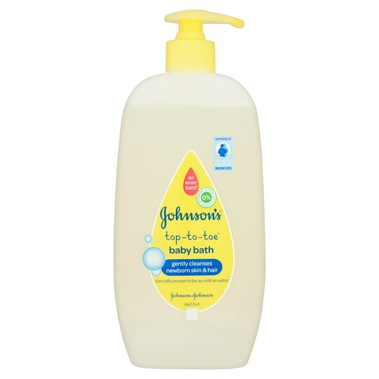 Johnson's Baby Top To Toe Bath 500Ml