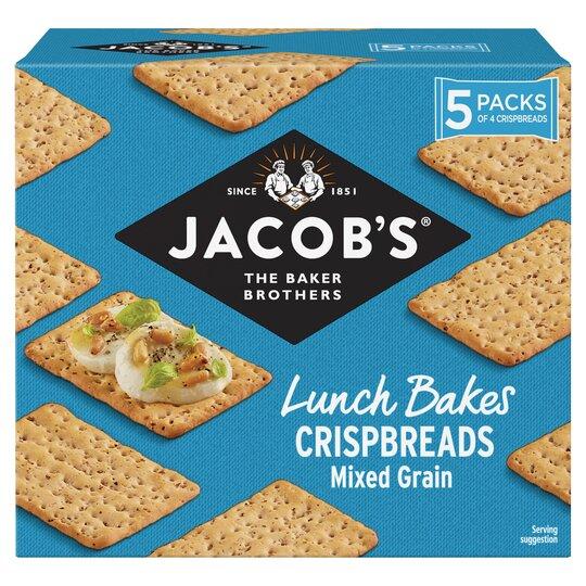 Jacobs Mixed Grain Crisp Bread 190G