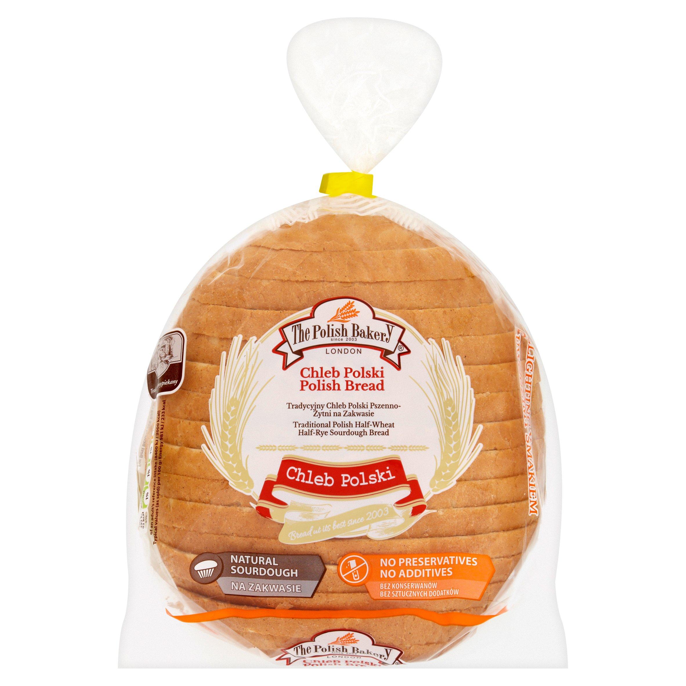The Polish Bakery Half Wheat Half Rye Bread 400G