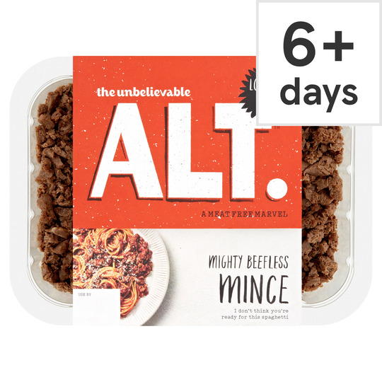image 1 of The Unbelievable Alt. Beefless Mince 360G