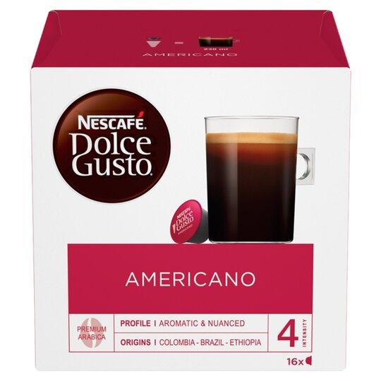 Nescafe Dolce Gusto Americano Coffee Pods 160g