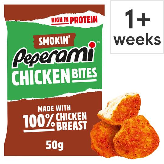 Peperami Smokin' Chicken Bites 50G