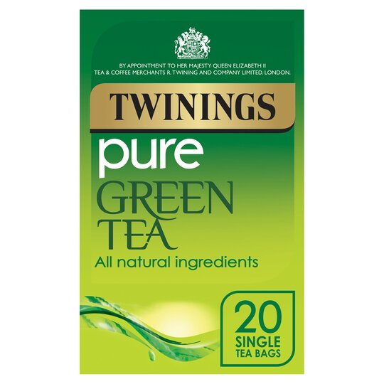 Twinings Pure Green Teabags 20'S 50G