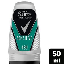 image 1 of Sure Men Sensitive Roll-On Antiperspirant Deodorant 50Ml