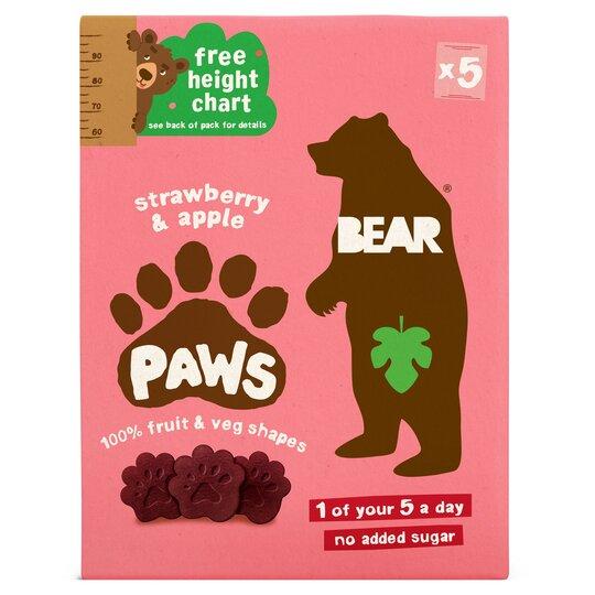 Bear Fruit Paws Dino 5 X 20G