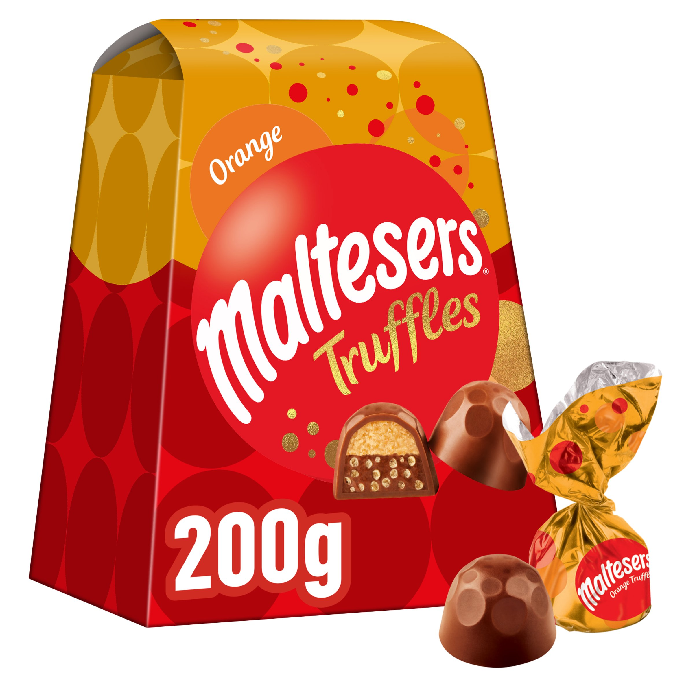 Maltesers Orange Truffles Gift Box 200G