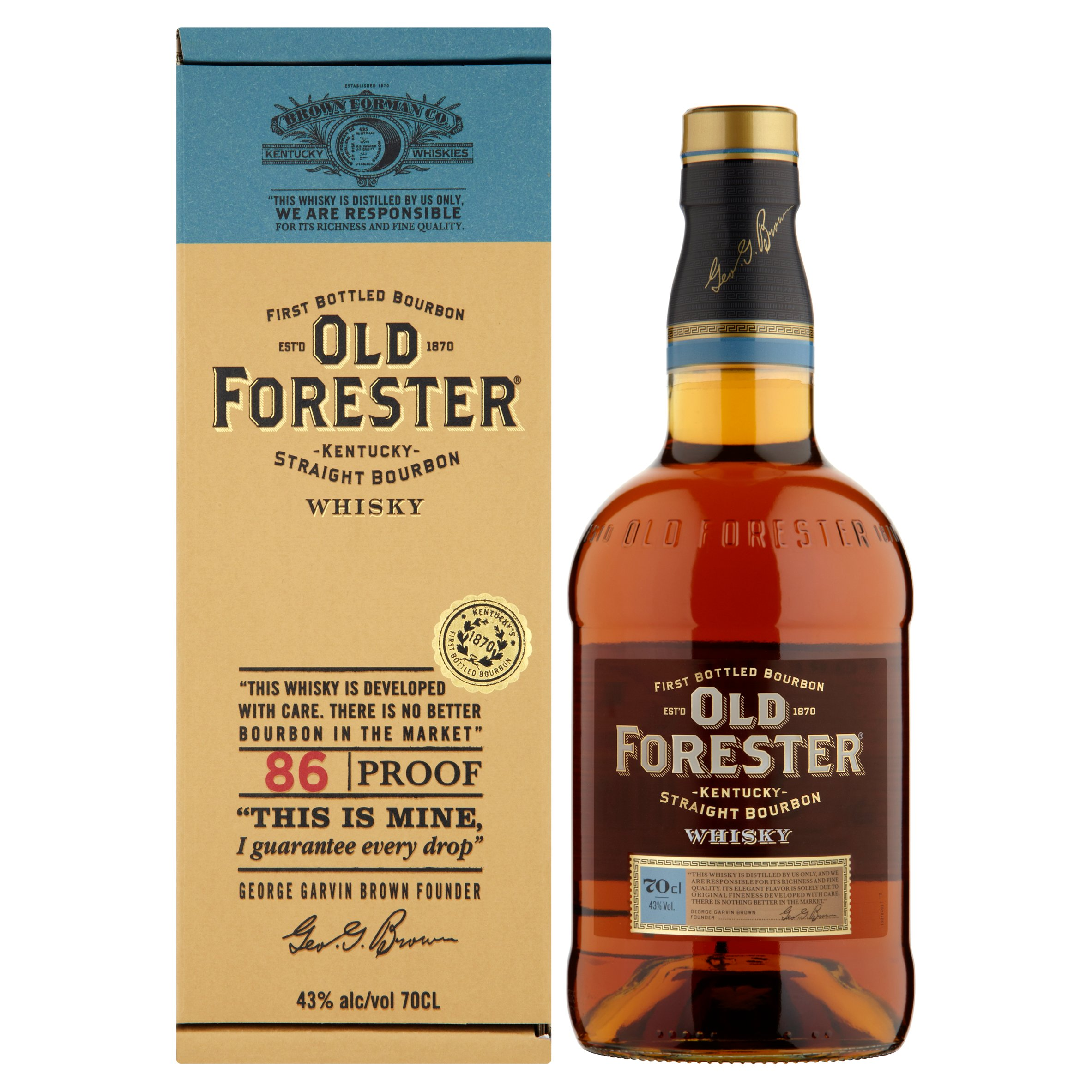 Old Forester Kentuckey Bourbon 70Cl